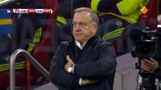 NOS WK-kwalificatie Voetbal Nederland - Zweden 2de helft
