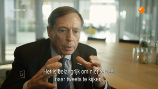 Ex-generaal Petraeus over 'Friese roots en politieke ambities'