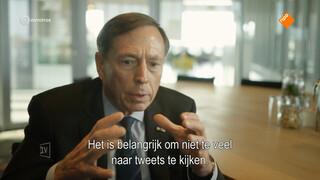 Ex-generaal Petraeus over 'Friese roots en politieke ambities'