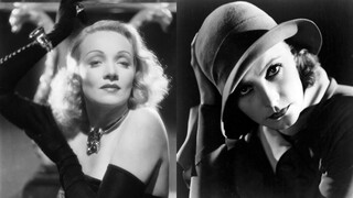 Close Up - Dietrich En Garbo - De Engel En De Godin