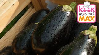 Kook mee met MAX Plaattaart met aubergine en cantharellen