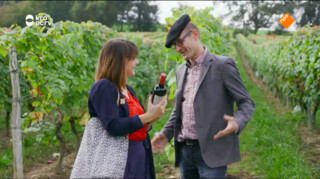 Keuringsdienst van Waarde Wijn met een krans