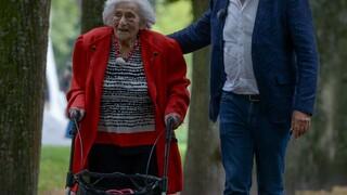 Joodse ouderen in Oekraine