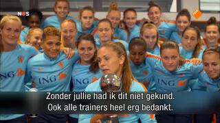 Lieke Martens beste voetbalster
