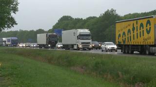 Oplossing fileprobleem: rijbaan vrachtwagens