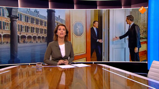 Premier Rutte ontvangt beoogde kabinetsleden