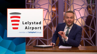 Lelystad Airport en Schiphol