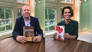 VPRO Boeken Pieter Waterdrinker en Elke Geurts
