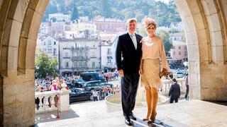 Koningspaar brengt staatsbezoek aan Portugal
