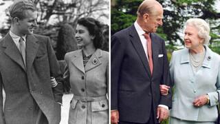 Het liefdesverhaal van koningin Elizabeth en prins Philip