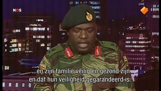 'Machtswisseling zonder bloedvergieten' Zimbabwe