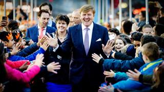 Koning op verjaardagsvisite in Lelystad