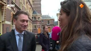 Ministers vieren Sinterklaas