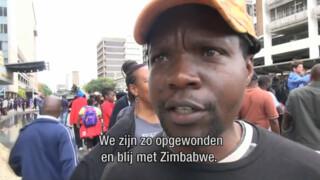 Volksprotest tegen Mugabe