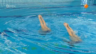 Synchroonzwemmen, Noortje en  Bregje de Brouwer