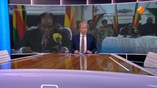Nieuwsuur: Mugabe wil niet aftreden