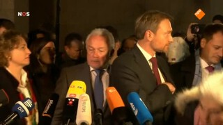 Duitse onderhandelingen mislukt