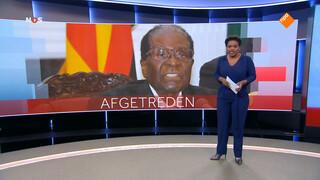 President Mugabe van Zimbabwe afgetreden