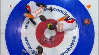 Oranje naar WK curling