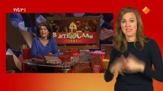 Het Sinterklaasjournaal met gebarentolk
