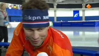 NOS Sport Schaatsen Wereldbeker Calgary