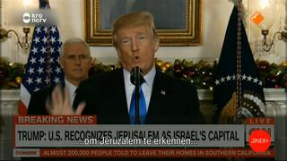 Wat vinden Asscher en Den Haag van Trumps Jeruzalem-toespraak?
