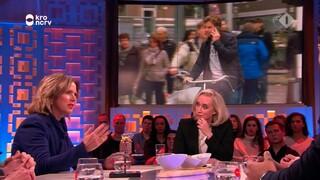 Minister Cora van Nieuwenhuizen wil dat we niet meer appen op de fiets