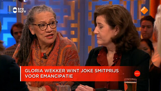 Gloria Wekker won de Joke Smitprijs 2017
