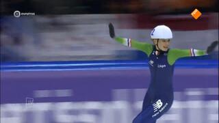 Irene Schouten: 'Elke medaille die ik win, is ook voor mijn familie'