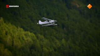Evi ontdekt Vancouver Island per postvliegtuig