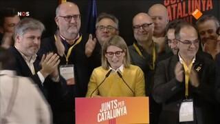 Afscheidingsgezinde partijen Catalonië winnen verkiezingen