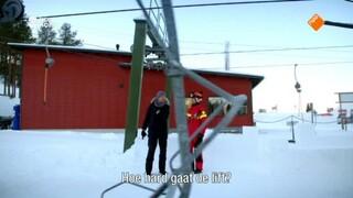 Kan Klaas sneller een sneeuwhelling op dan een skilift?