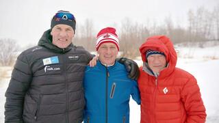 Drie Elfstedenhelden: met Reinier en Henk naar Evert in Canada