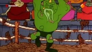 De Smurfen - De Modderworstelwedstrijd