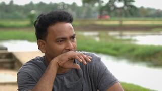 Nilantha ziet op tegen ontmoeting met vader