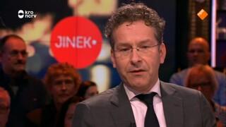 Jeroen Dijsselbloem, Erik Scherder, Dick Swaab, Henkjan Honing, Dennis van de Ven en Jeroen van Koningsbrugge