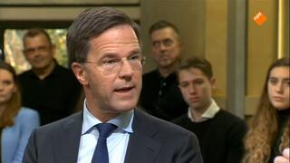 Premier Rutte over migratie en Europa