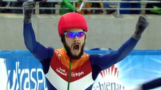 Sjinkie voor 3de keer Europees kampioen shorttrack