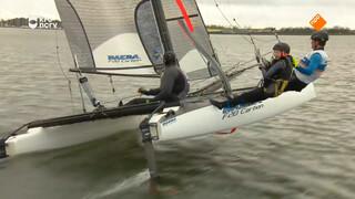 Hoe kan je het snelst varen met een zeilboot?