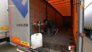 'Boetes voor transportbedrijven die hun chauffeursuitbuiten een lachertje'