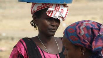 Water halen in Senegal