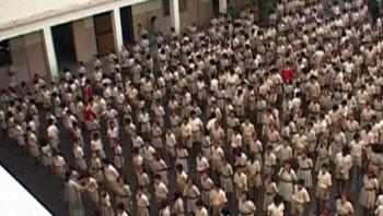 Een schooldag in India