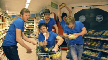 Muziek maken in de supermarkt