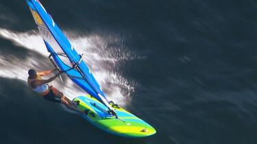 Het Klokhuis: Windsurfen