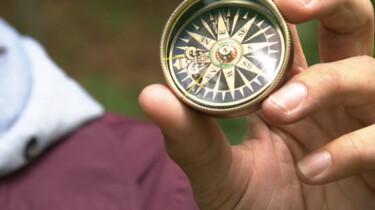 Hoe werkt een kompas?