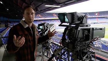 Hoe wordt een live voetbalwedstrijd uitgezonden?