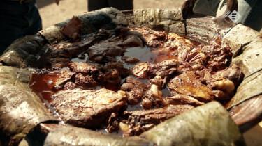De Aardappeleters in de klas: Barbecue