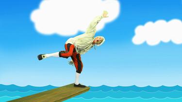 Walk the plank
