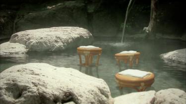 Dansende stoelen bij de warmwaterbron