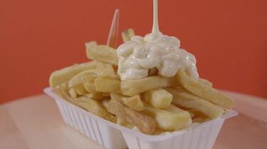 Wat is de 'met' op je frietje met?: Geen mayonaise maar fritessaus